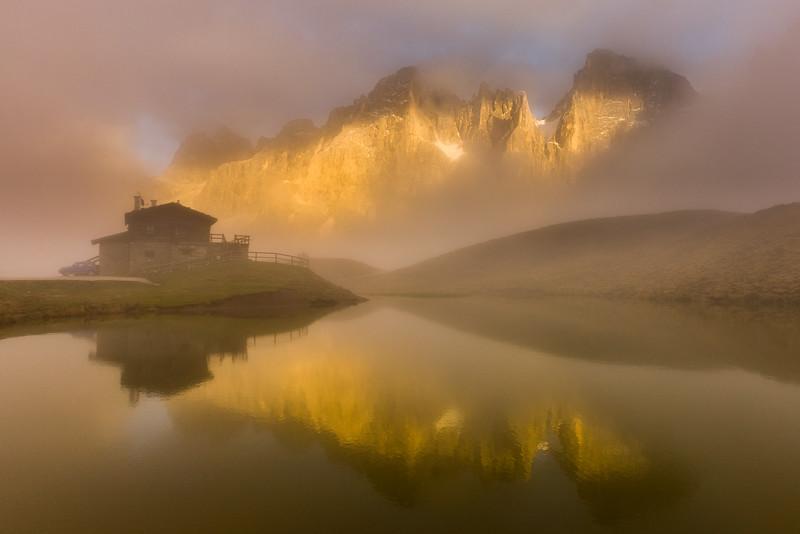 Baita Segantini, Dolomites, Italy