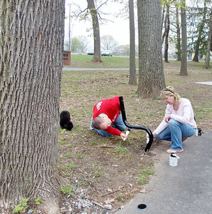 As part of the RED Day effort, Keller Williams Realty Group-Limerick staff chose to spend the day in Boyertown doing various tasks throughout the day on Thursday, May 8.