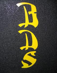 Chief's deck - neon yellow urethane