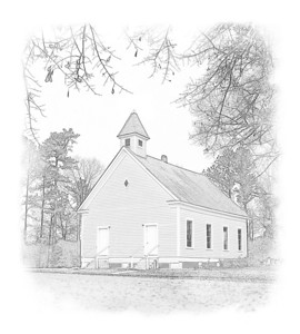 Morman Church, Magnolia, Alabama