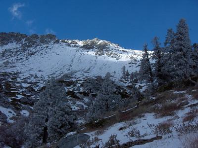 Ski Hut trail, 01/12/07