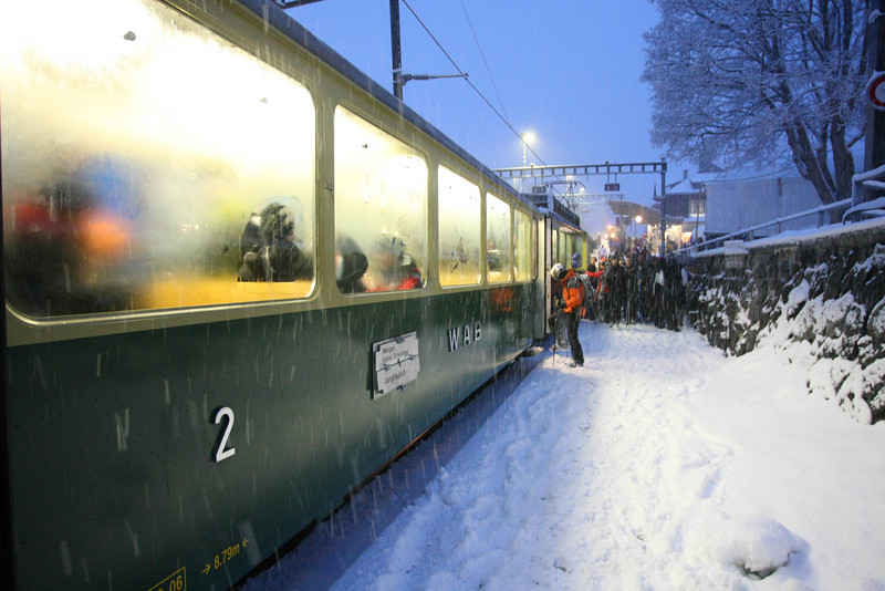 The Wengen Train
