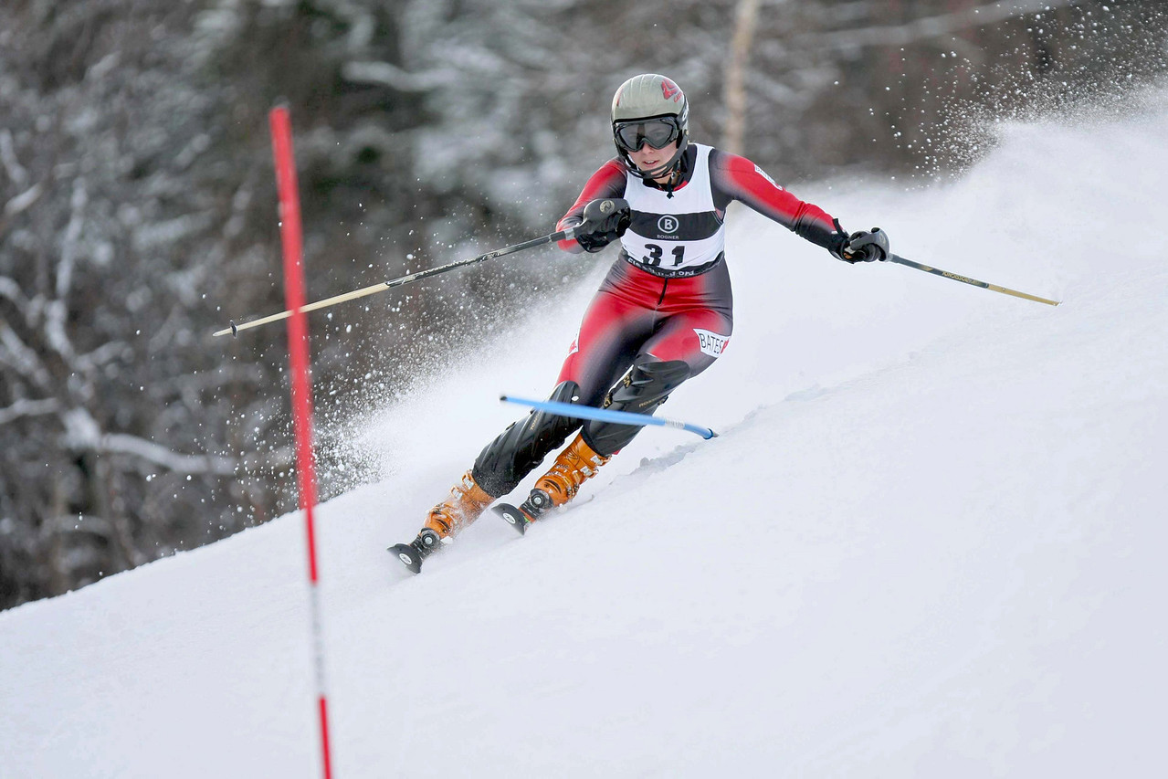 Bates Ski Team training at Sunday River in early December.