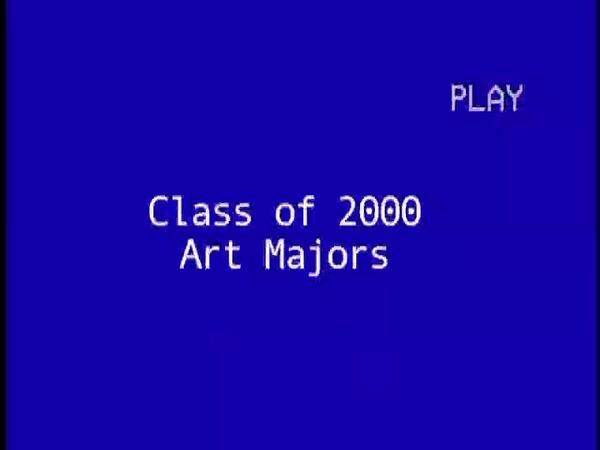 Art Majors 2000
