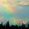 Rainbow in the Saskatchewan River Valley Aug 3, 2008