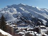 The ski slopes surround Avoriaz, requiring at least a full day to ski all the main runs and use all the lifts.  Some of the accessed areas are in Switzerland.