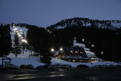 Skiing Brighton, Utah, March 2007