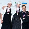 Nationale winnaars wedstrijd koken  Skills Masters