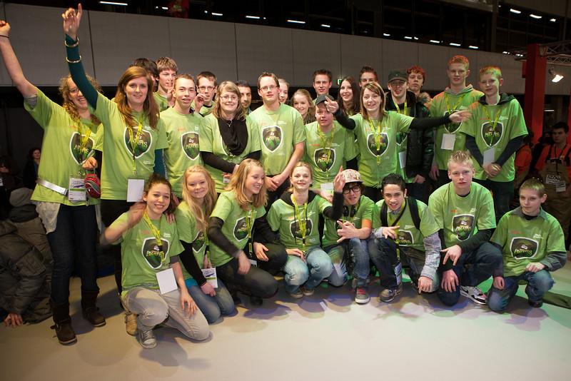 Halve Finalisten IJsselland Pirates