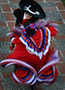 From Top---Fiesta Folklorico dancers,  Carlos Garcia and Veronica Delgado, participate in the Cinco de Mayo celebration held at the Bowers Museum of Cultural Art in Santa Ana.