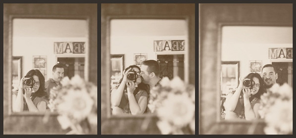 The kiss triptych