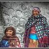 Pilgrims at Ganesh Tok, Gangtok, Sikkim, India.