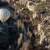 Kapadokya Balloons' daily dawn flight, Goreme, Turkey.