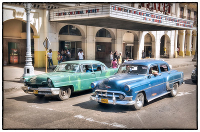 A drive through Havana, Cuba.