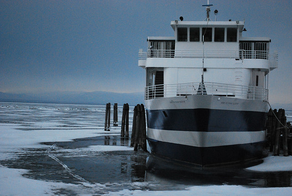 Ferry at rest