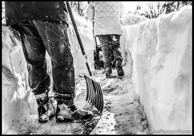 Path clearing 2/9/13
