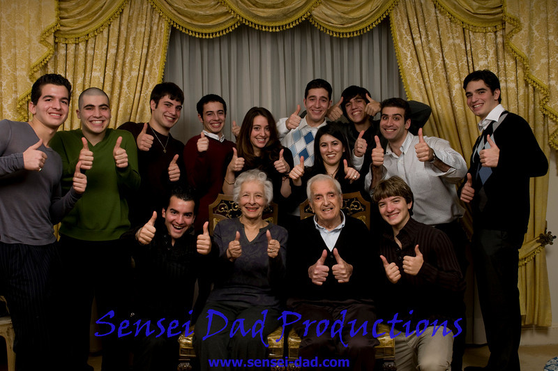 Xanthos GrandkidsThanksGiving Thumbs up