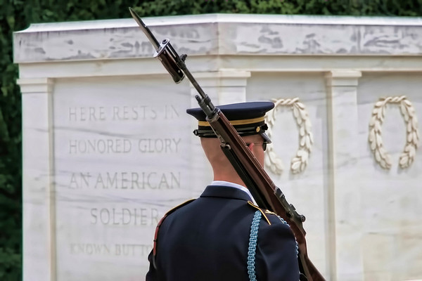 Tomb of the Unknown - Washington D.C. - 2012