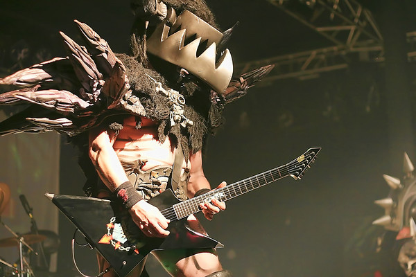 Balsac the Jaws of Death of GWAR - 2009