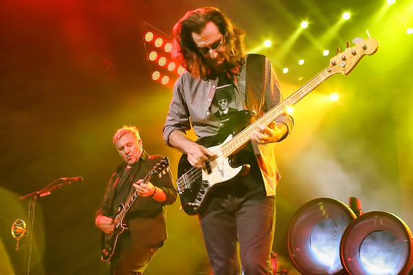 Geddy Lee and Alex Lifeson of Rush - 2012