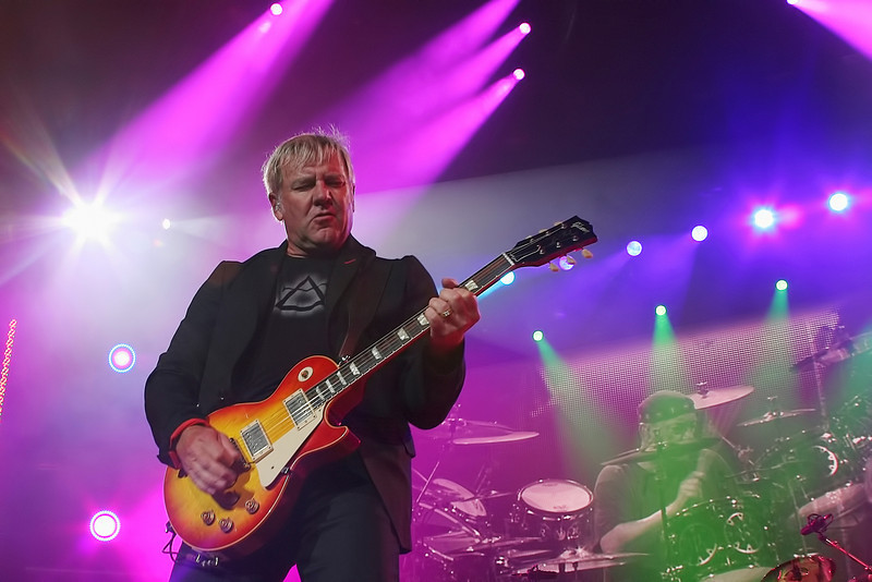 Alex Lifeson of RUSH - 2010