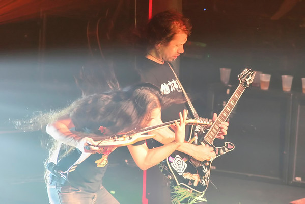 Herman Li and Sam Totman of DragonForce - 2009