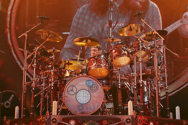 Neil Peart of Rush - 2010