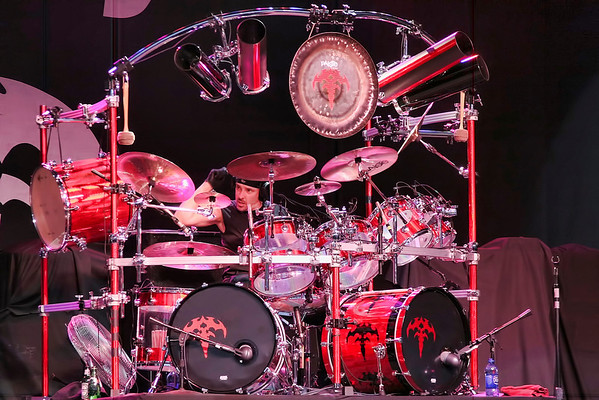 Scott Rockenfield of Queensryche - 2010