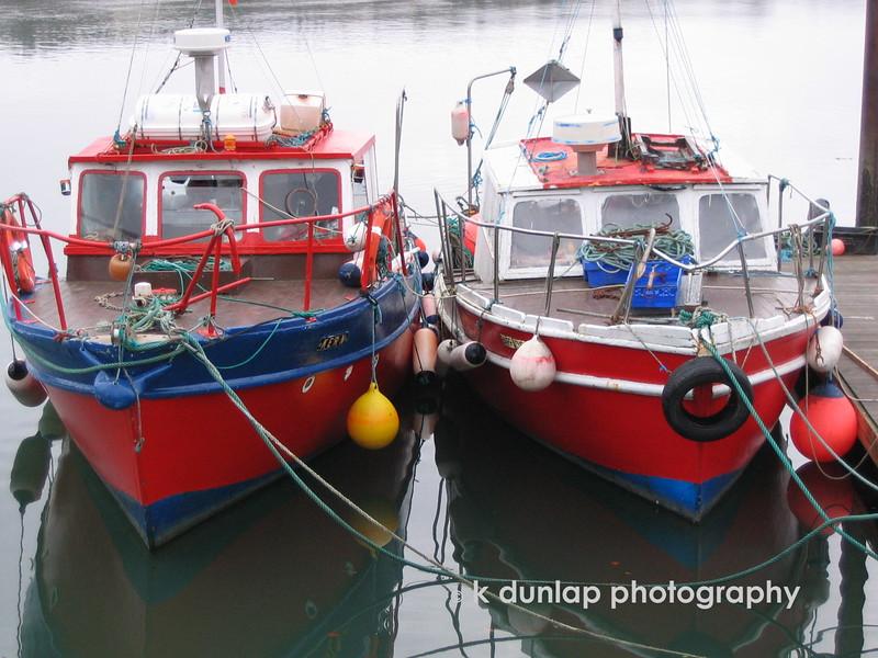 Boats in Kinsale harbor