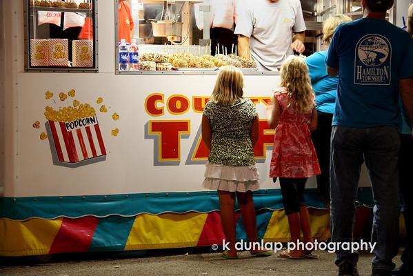 Kids love fair food!