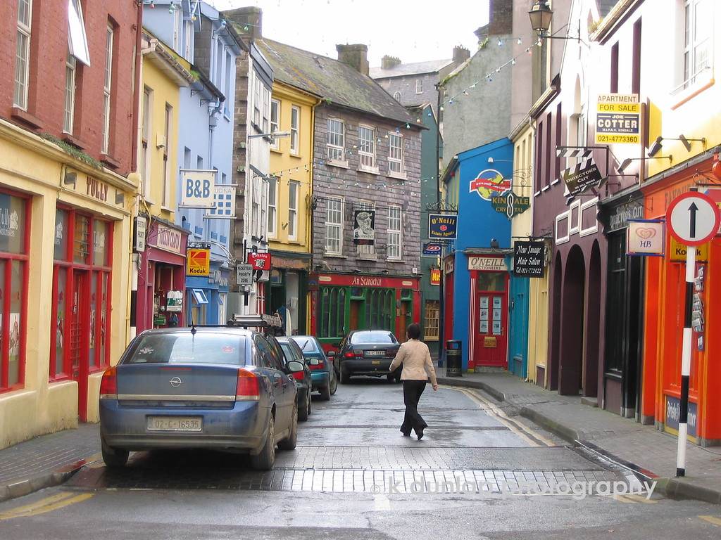 The streets of Kinsale, Ireland.  I loved this place.  I felt at home there.