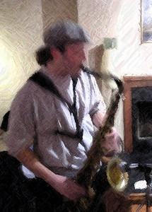 Ryan White on sax.