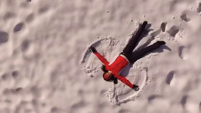 "Short Videos - Christina's ""Snow Angel"""