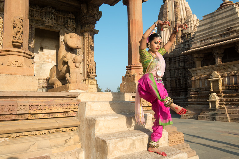 Namrata Mehta of Kaishiki, which was started by Odissi dance Guru Smt Daksha Mashruwala.<br /> Khajuraho Dance Festival, Feb 2017. Colorful and brilliant classical dance forms of India with roots in the rich cultural traditions offer a feast for the eyes during a weeklong extravaganza. Khajuraho Temples in Madhya Pradesh are popular for their architectural wonders and sculptures.