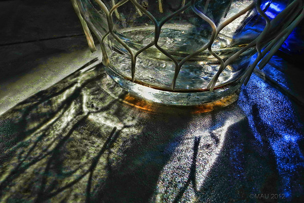 "22-Mar-2012<br /> <br /> ""Botella enredada"" - ""Netted bottle"""