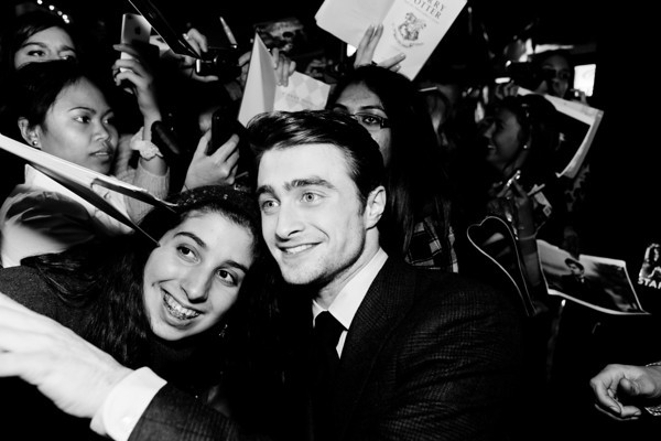 Daniel Radcliffe and fans