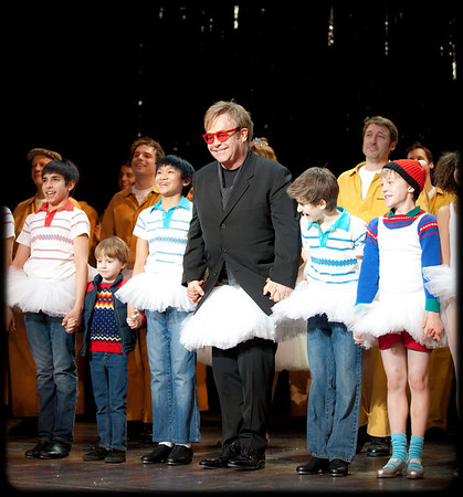 Sir Elton John & the Toronto Cast of Billy Elliot