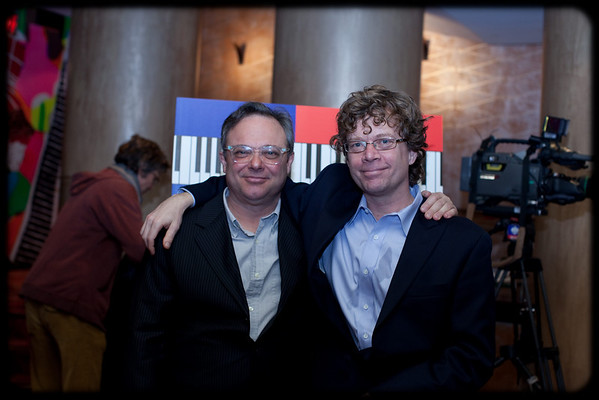 Richard Greenblatt & Ted Dykstra, hosts of the Mirvish 2011/2012 Season launch, as seen on BroadwayWorld.com