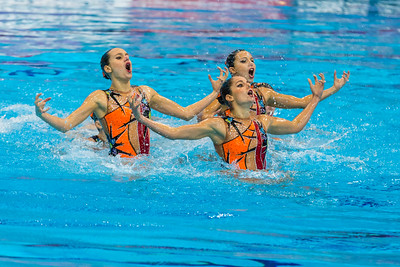LEN European Aquatics Championships Day 5: Synch Swim Team Finals
