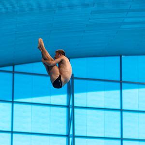 LEN European Aquatics Championships Day 7: Men's 10m Platform Final, London, UK
