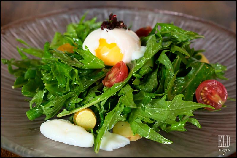 Mizuna Nicoise Salad - Iconiq