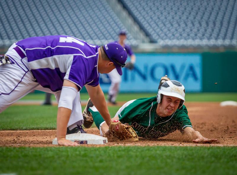 Wilson vs. Gonzaga - DCSAA Baseball Championship