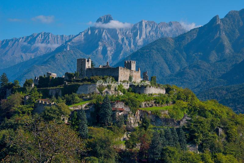 Breno Castle, Lombardy, Italy