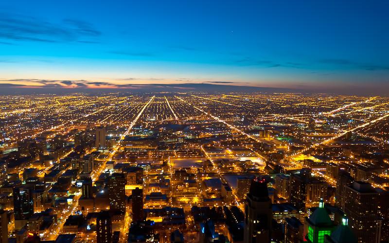 Chicago western horizon
