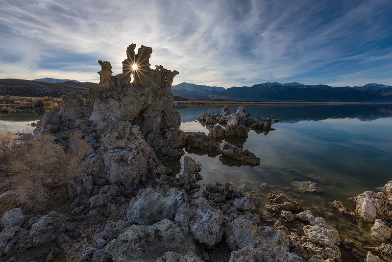 Mono Lake Sentinel Glare website