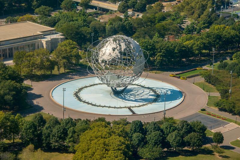 1965 World's Fair Globe, Queens, New York City