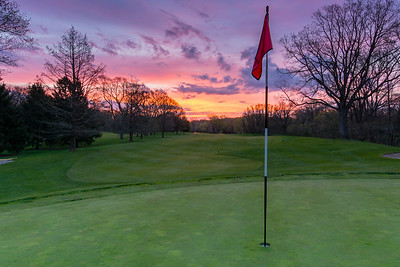 Sunrise On The 6th Green