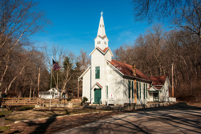 United Methodist Church, Elsah, Illinois