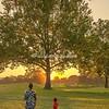 Sunset, Forest Park, St Louis