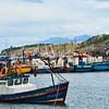 Bahia Mansa fishing village, Patagonia, Chile